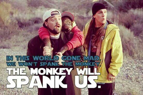 Won t spank the monkey the