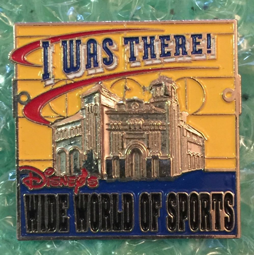 Details about Disney WDW I Was There! Disney's Wide