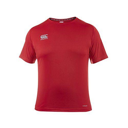 Canterbury Boys Vapodri Superlight Logo T Shirt