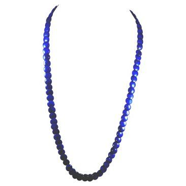 Check out this item at One Kings Lane! 14K Gold & Lapis Lazuli Bead Necklace
