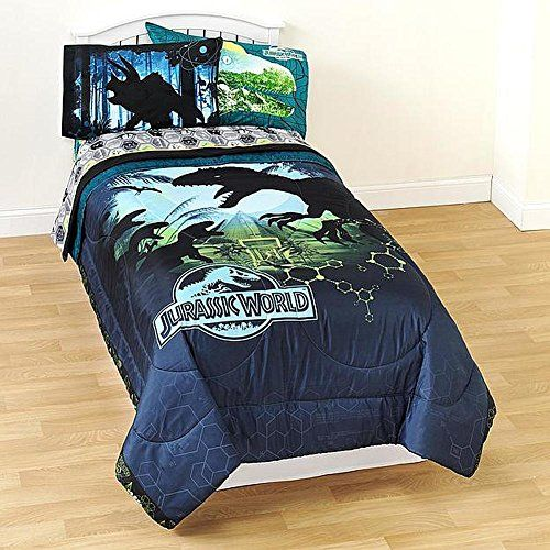 Jurassic World Twin Comforter Micofiber Boys Dinosaur Bed Https