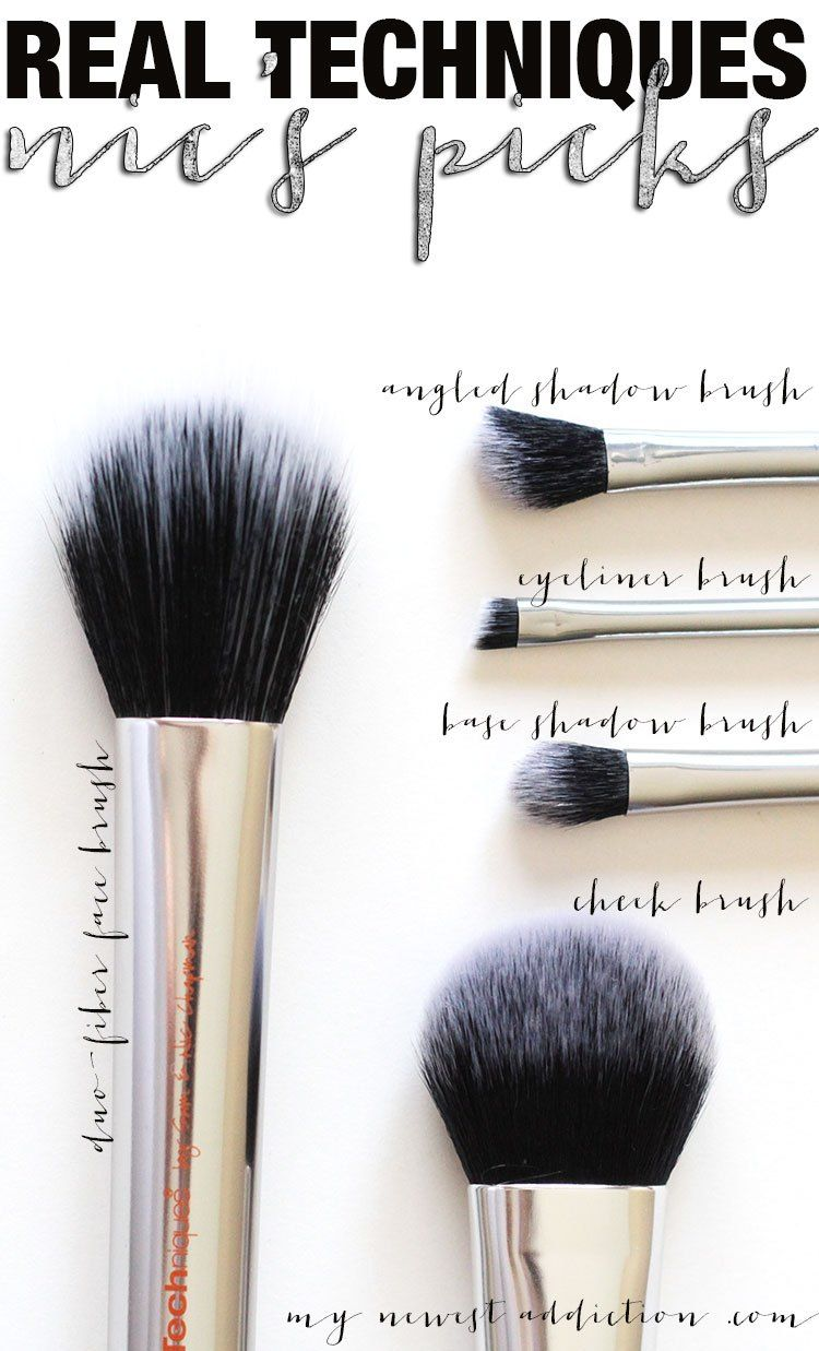 4e202fcca1b Real Techniques Nic s Picks Makeup Brush Set. 3 of the brushes are  exclusive to this