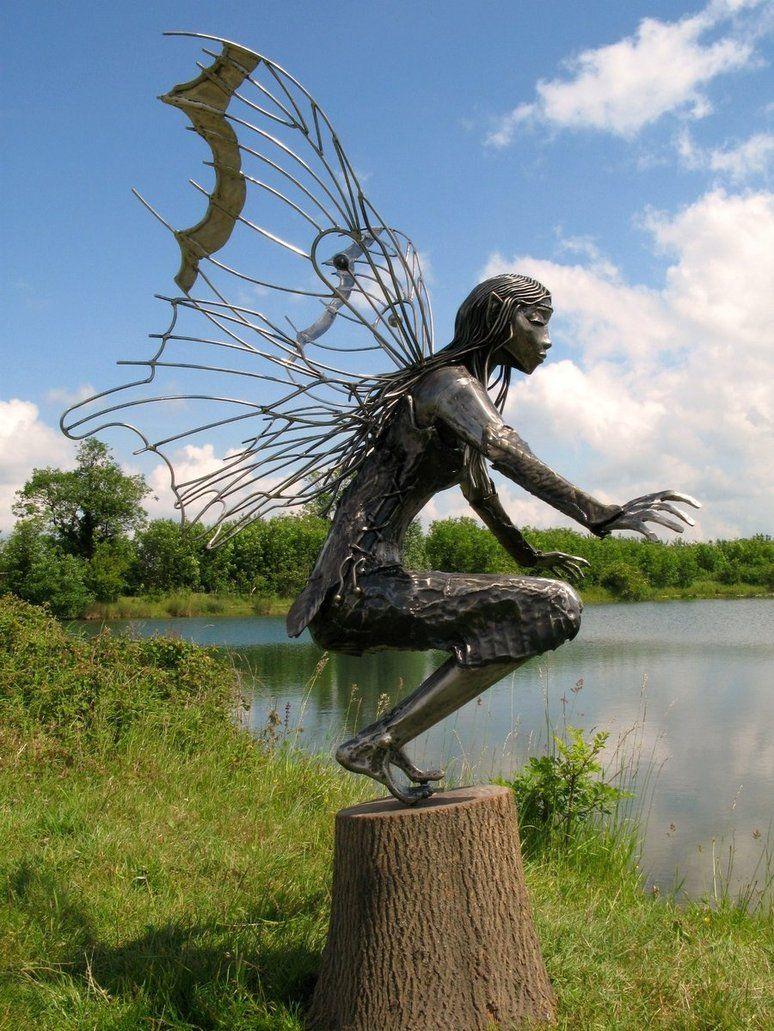 Airy fairywonderful welding art art sculpture