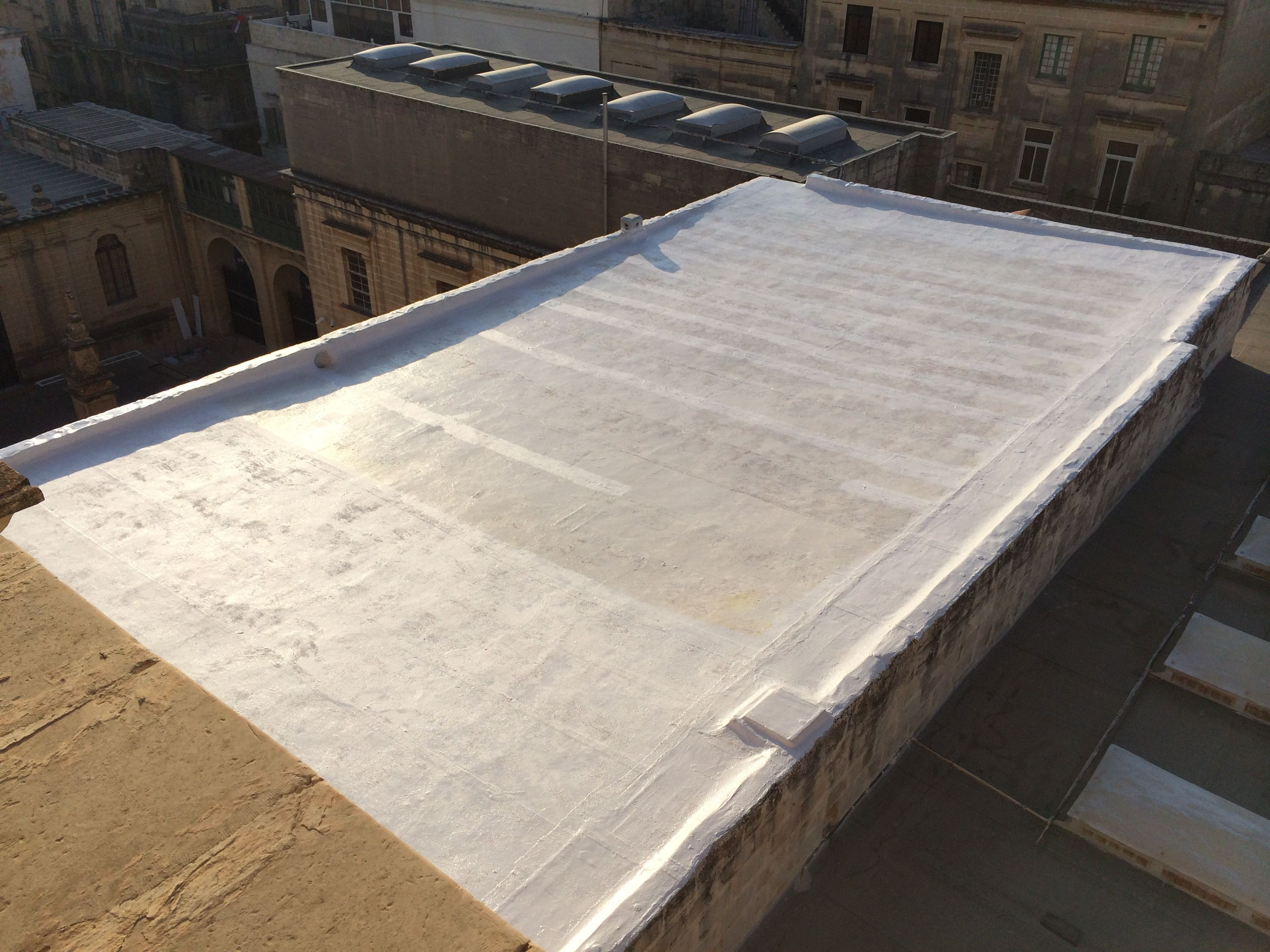 Renovation Of St John S Co Cathedral Roof In Malta Building Renovations Roof