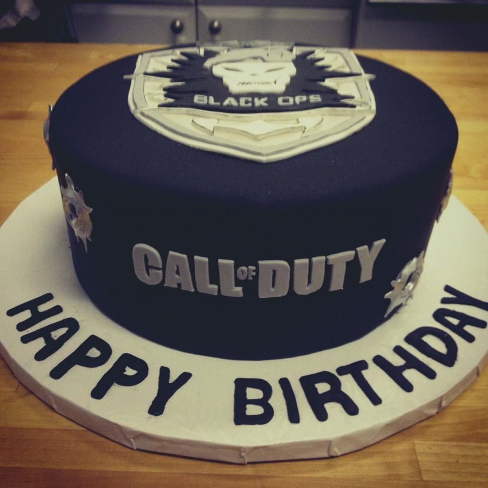 Groovy 27 Inspired Image Of Call Of Duty Birthday Cake Cake Call Of Funny Birthday Cards Online Inifodamsfinfo
