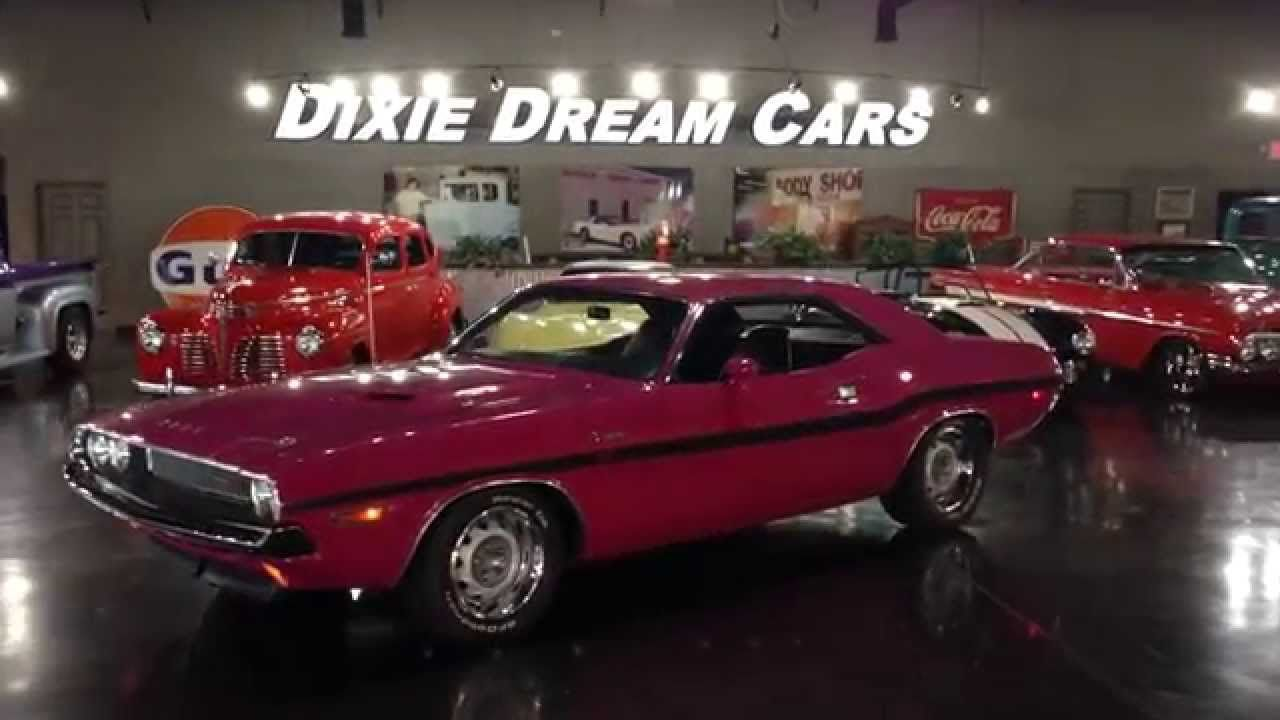 DIXIE DREAM CARS, 1970 Dodge Clallenger R/T 440 Dream