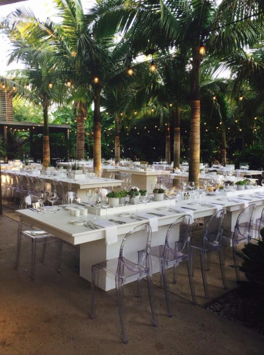 Naples Botanical Garden Wedding Reception Naples Botanical Garden