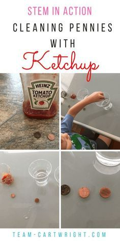 At Home Chemistry: Cleaning Pennies with Ketchup - Team Cartwright