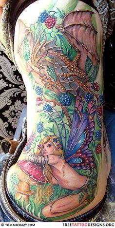 28 Cool Fantasy Fairy Tattoos Fairy Tattoo Fairy Tattoo Designs Small Fairy Tattoos
