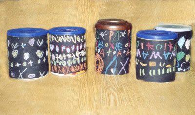 Bekannt fabriquer objet bricolage ecole maternelle avec des boîtes de lait  ZA54
