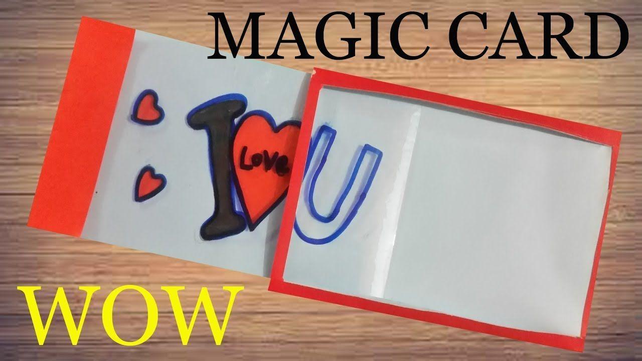 Make magic card easy tutorial diy crafts greeting card make magic card easy tutorial diy crafts greeting card kristyandbryce Images
