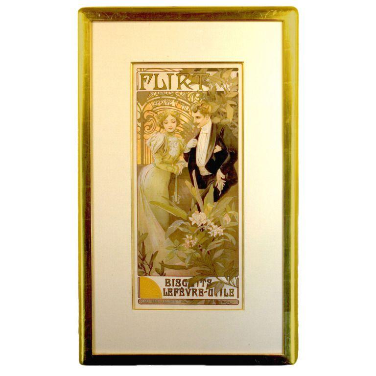 Original Art Nouveau Poster by Mucha | Art nouveau poster, Originals ...