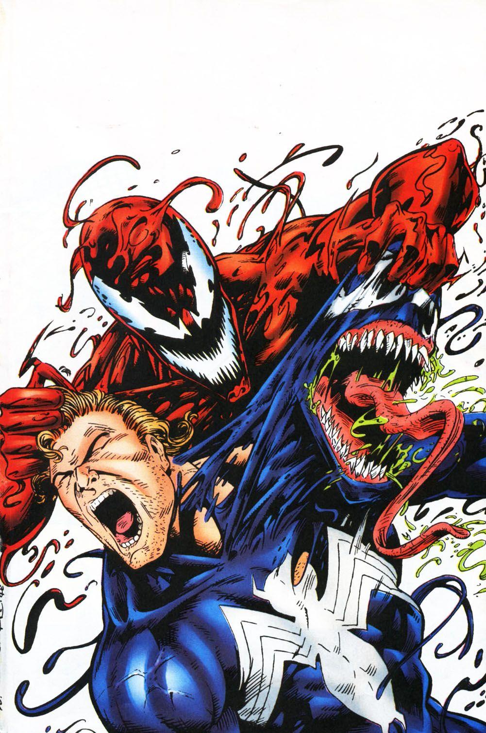 venom carnage unleashed vol 1 3 | nerd | marvel, comics, marvel comics
