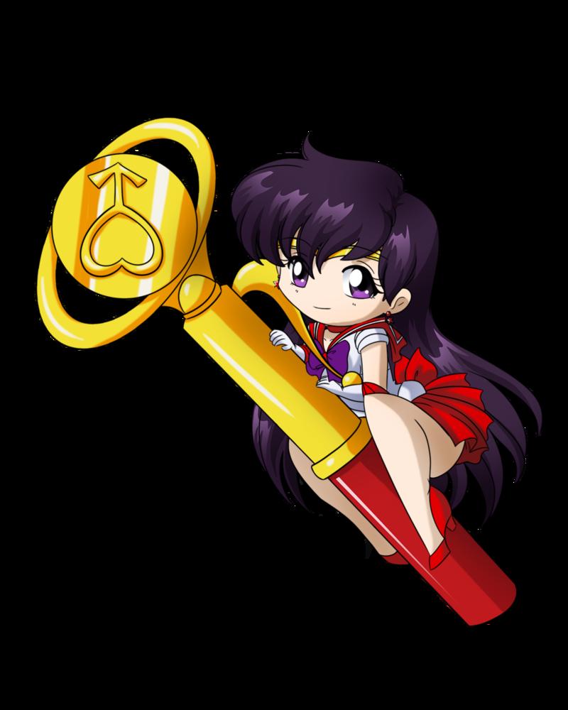 Sailor Mars Wand by SMeadows