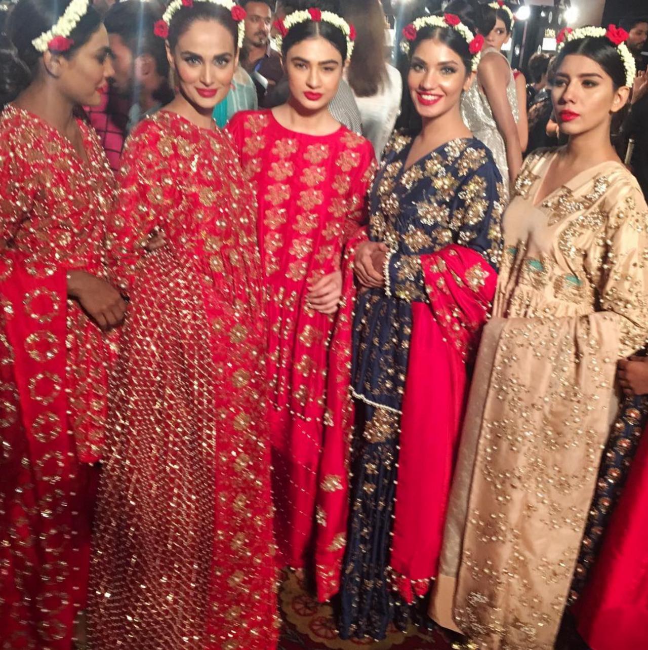 Models adorning Muse Fashion.   Pakistani outfits, Fashion