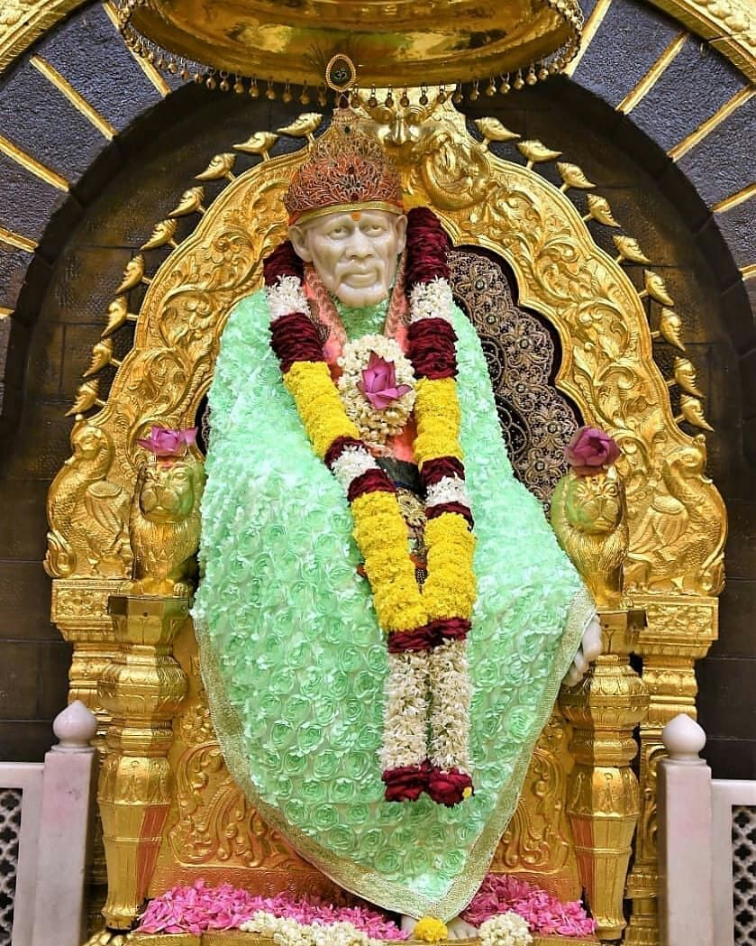 Om Sai Ram Love Sai Baba On Instagram If Beginning Is Difficult Then Only End Will Be Shirdi Sai Baba Wallpapers Sai Baba Wallpapers Sai Baba Pictures