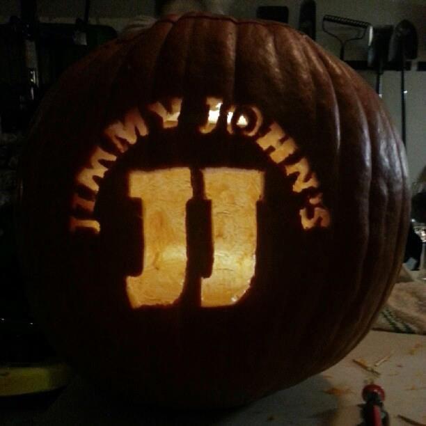 jimmy johns pumpkin? lol my life is made Jimmy johns