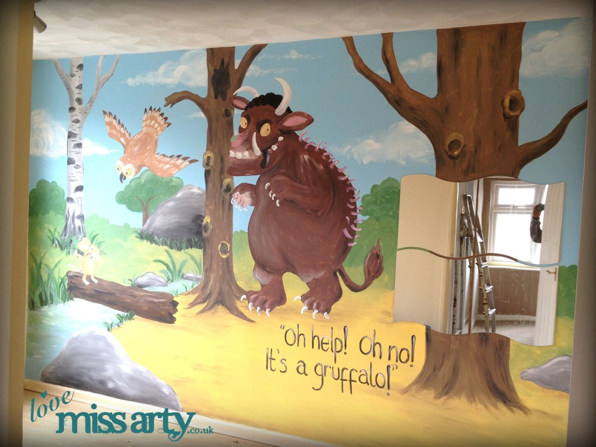 Gruffalo wall mural lovemissarty pinterest murals and wall gruffalo wall mural amipublicfo Image collections