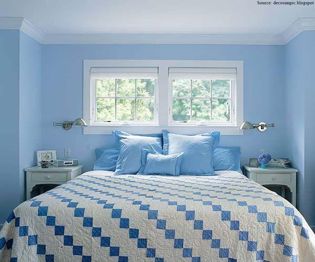 light blue paint colors bedroom