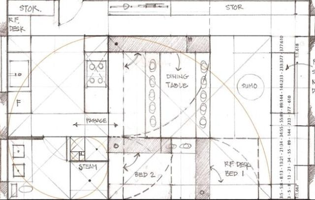 Golden ratio home design