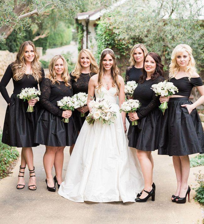 Classic White + Lavender Wedding: Christine + Jordan