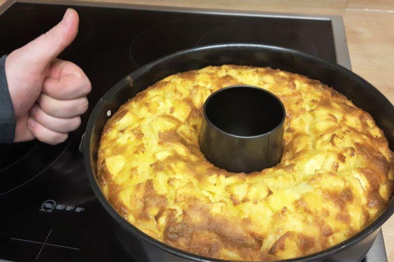 Schneller Apfelkuchen für den Kindergeburtstag - Mama geht online #marinadeforbeef