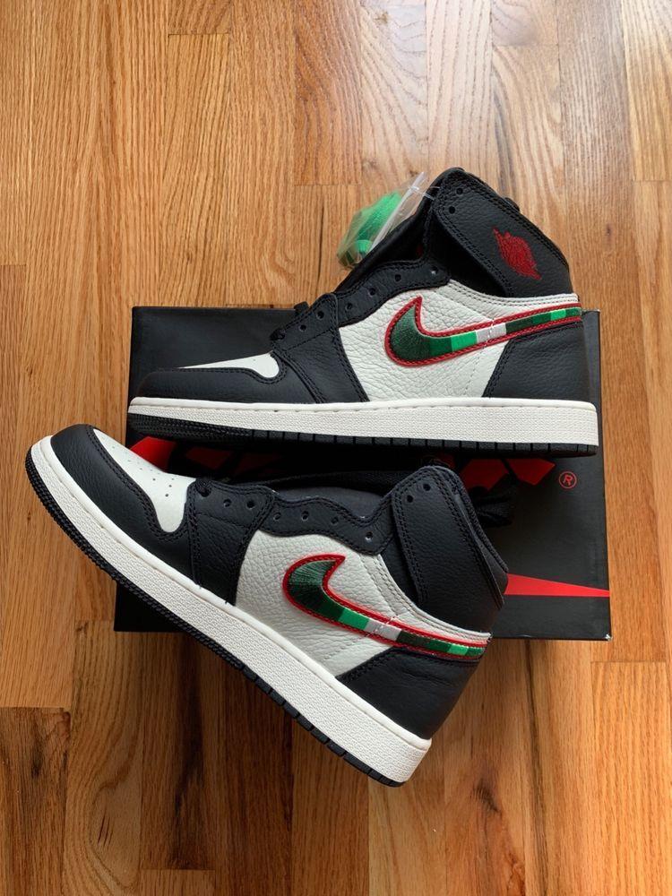 Nike Air Jordan 1 Retro High A Star Is Born Black Sail White Gym Red Size 7  GS  fashion  clothing  shoes  accessories  mensshoes  athleticshoes (ebay  link) 85e968bdd