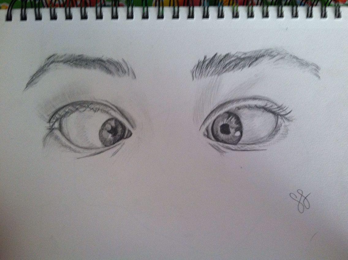 eyes going cross eyed