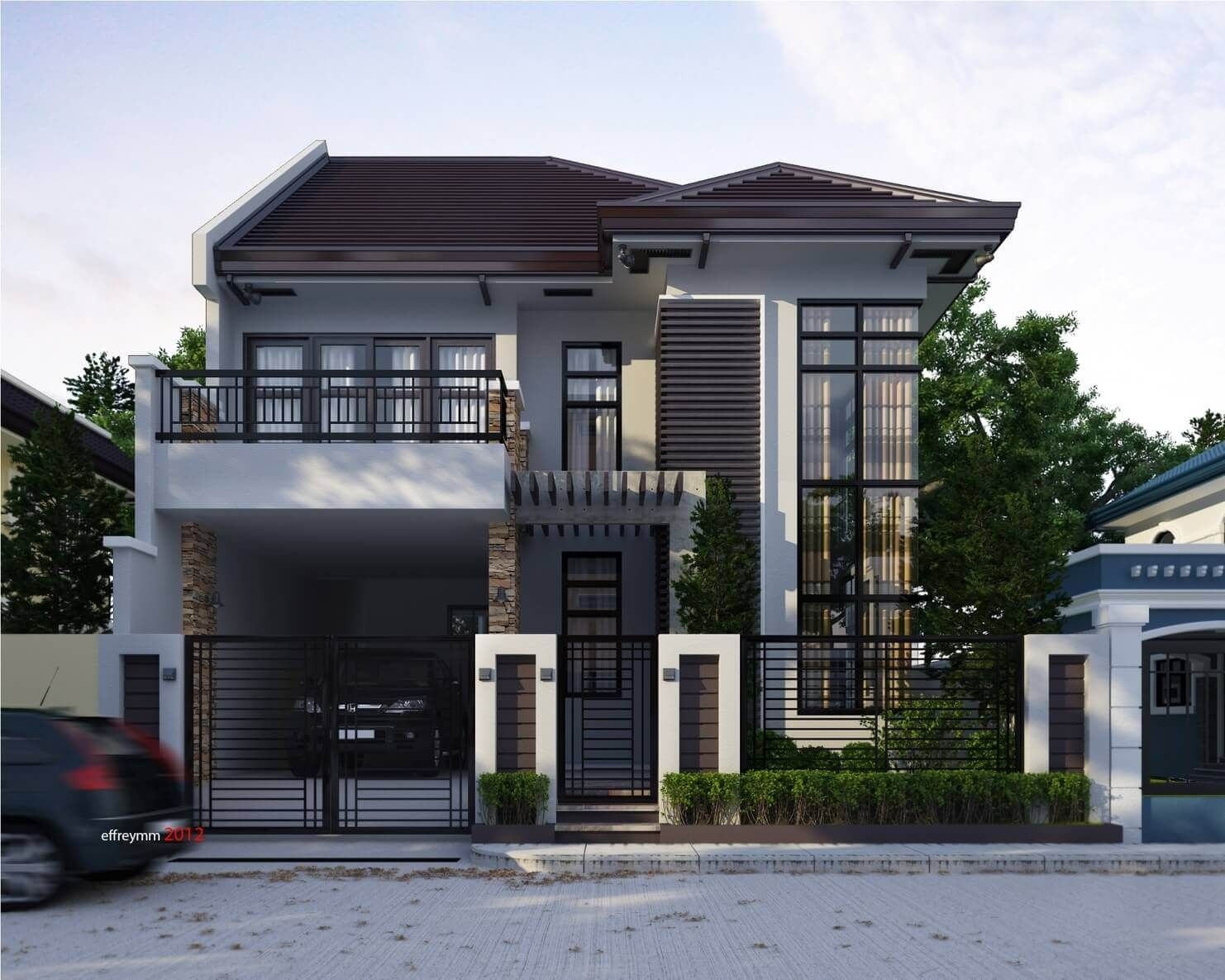 Popular 2 Story Small House Designs In The Philippines ...