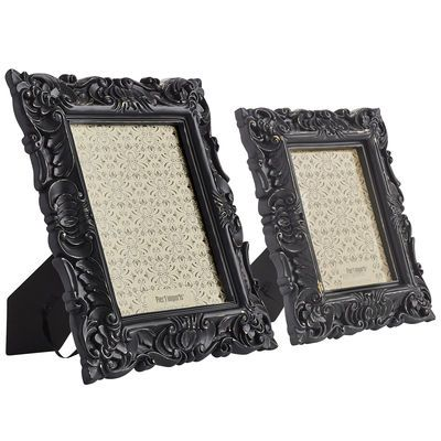 Baroque Desk Frames - Black | for my dark side // home decor ...