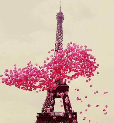 LOve Balloons, Love Paris, This picture is extra love :)