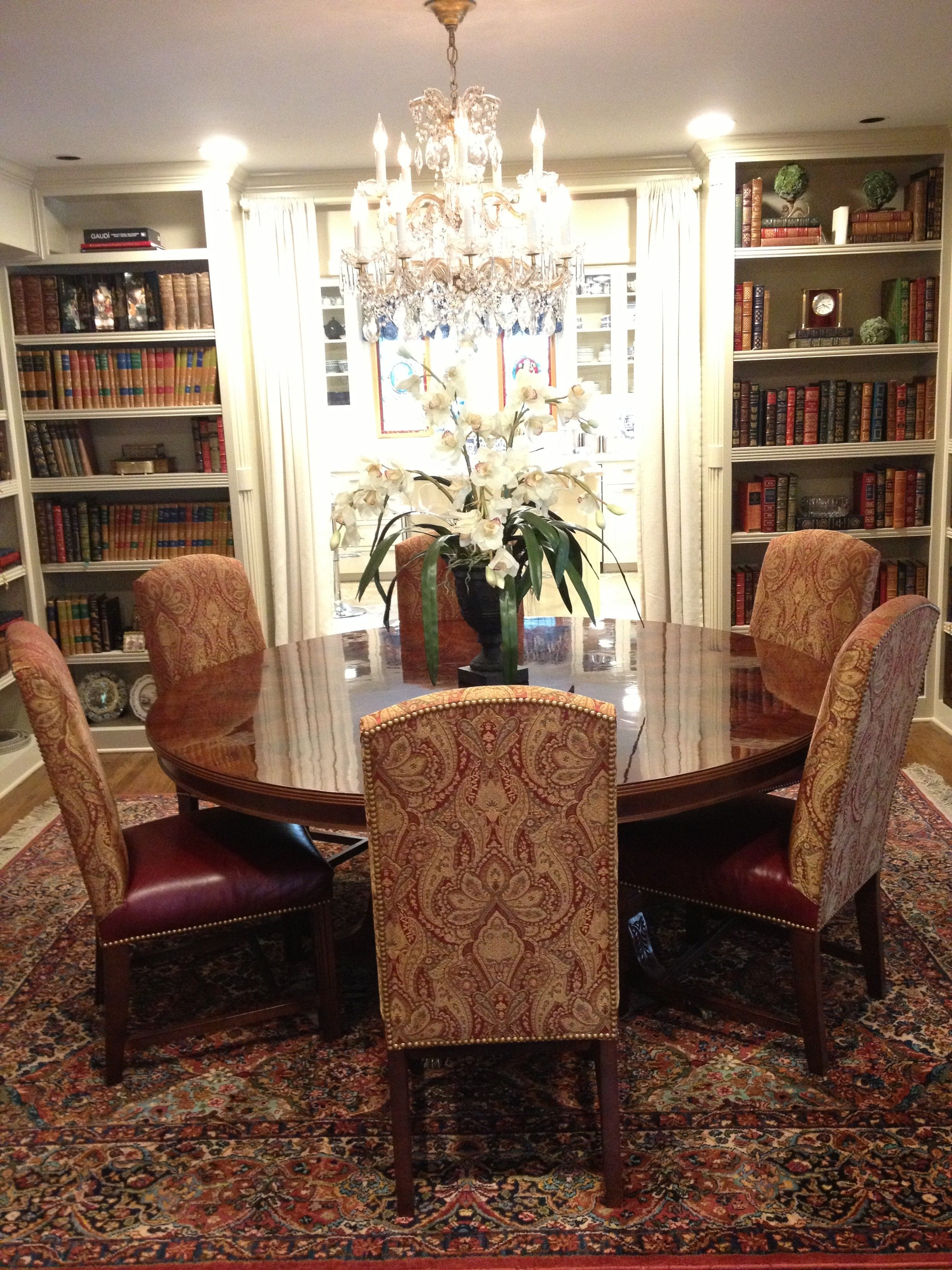 Dining Room Library Ideas: Running With The Fancy Folk!