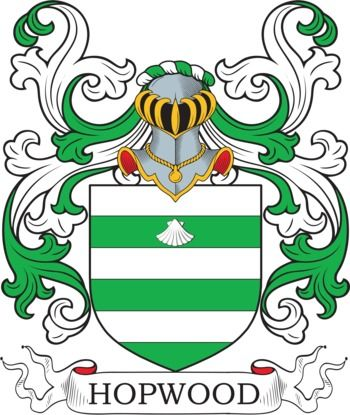 Hopwood Family Crest and Coat of Arms | coadb | Coat of arms