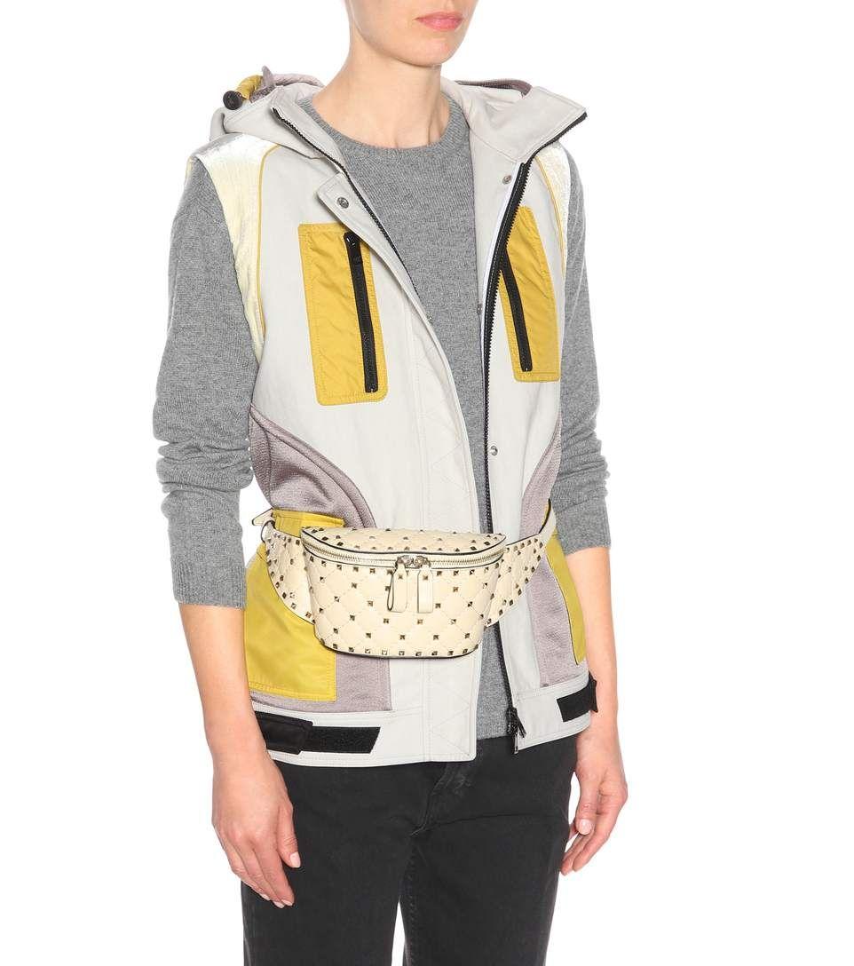 6756003ed Valentino - Valentino Garavani Rockstud leather belt bag | mytheresa.com