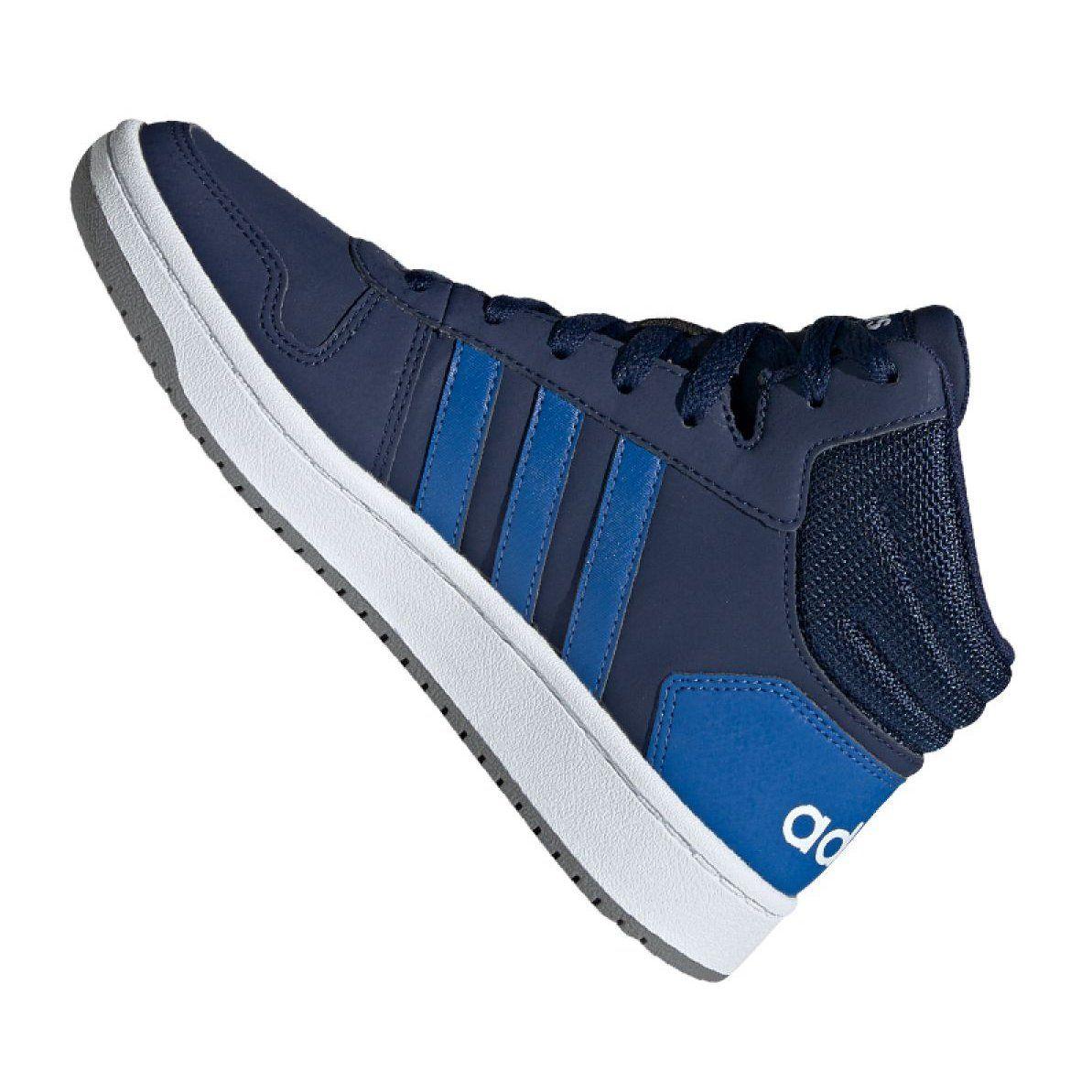 Sportowe #Damskie #Adidas #Granatowe #Buty #Adidas #Hoops