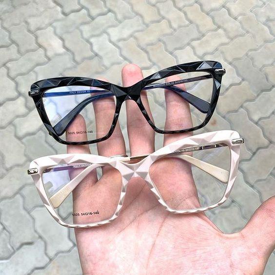 Oculos Armacao De Grau Preto Cristal 3d Armacoes De Oculos