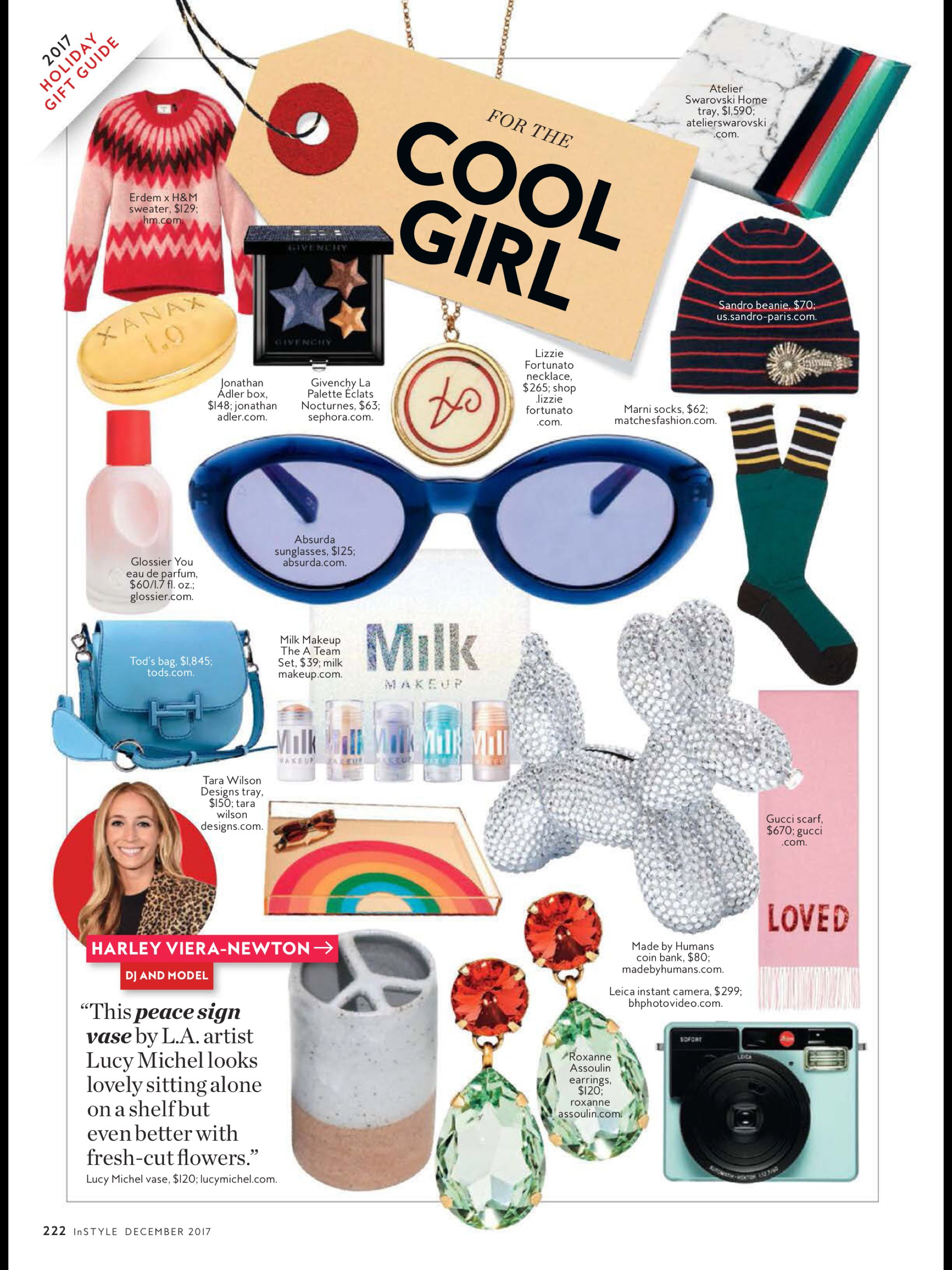 """Gift Guide: Holiday 2017"" from InStyle, December 2017. Read it on the Texture app-unlimited access to 200+ top magazines."