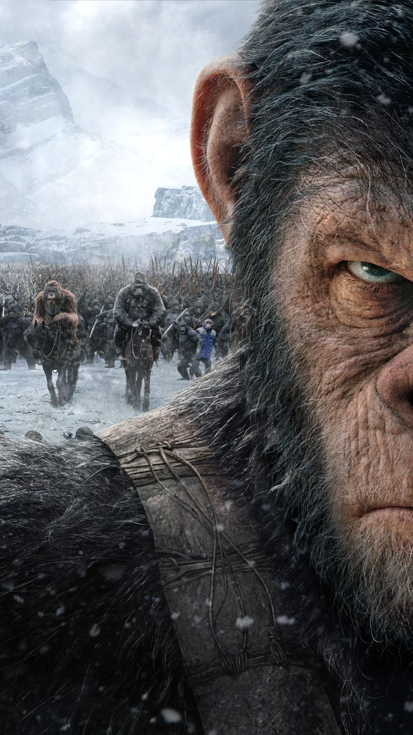 War for the Planet of the Apes (2017) Phone Wallpaper   Moviemania