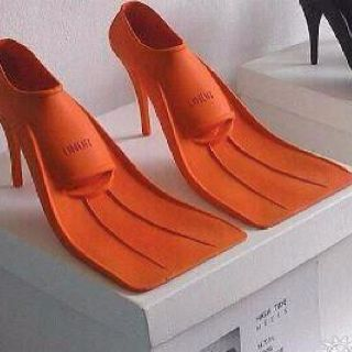 now you can swim in heels