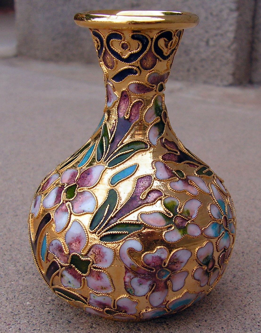 Vintage cloisonne miniature vase cloisonne vase by retrosideshow vintage cloisonne miniature vase cloisonne vase by retrosideshow reviewsmspy