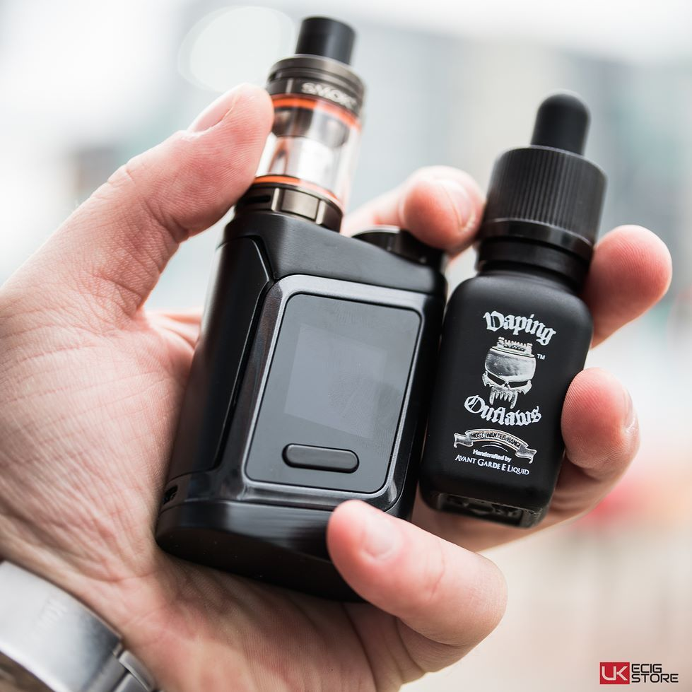 Handcheck SMOK ALIEN MINI AL85 KIT X VAPING OUTLAWS MOST