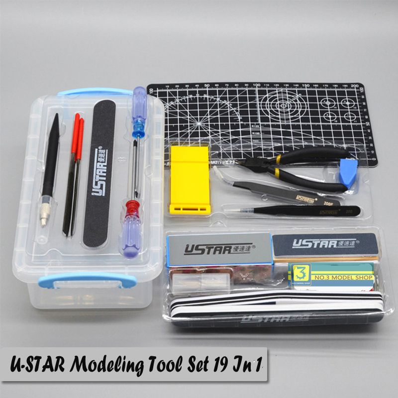 Click to Buy << UStar UA90067 Making Model Suits Tools Kit