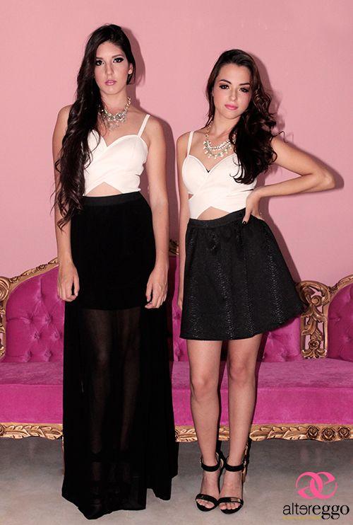 #vestidos #fiesta #largo #corto #transparencias #negro #blanco #corteA #top #crop #estilo #balenciaga #hermoso #elegante #primavera #2014