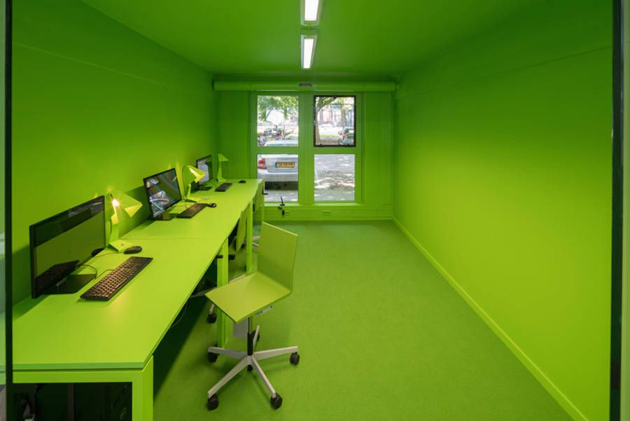 Colorful & Inventive Headquarter Office for MVRDV – Fubiz Media