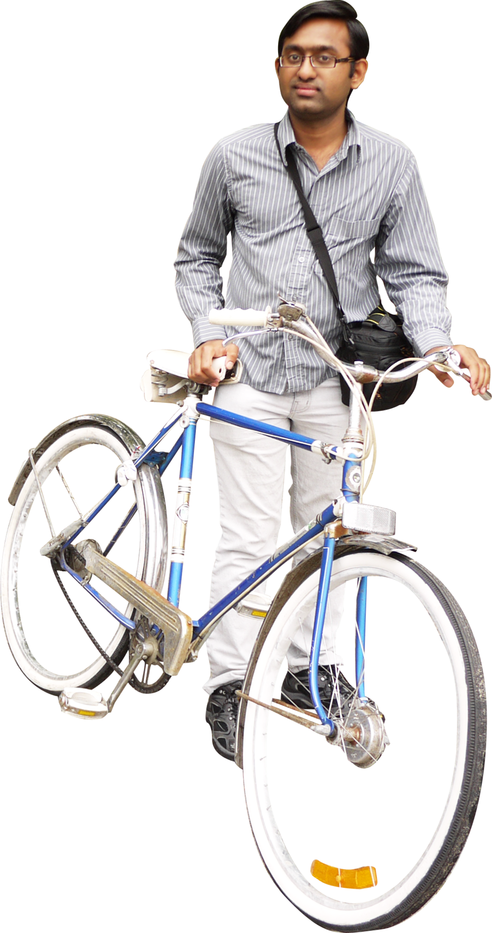 Riding Bicycle Four | Isolated Stock Photo by noBACKS.com ...