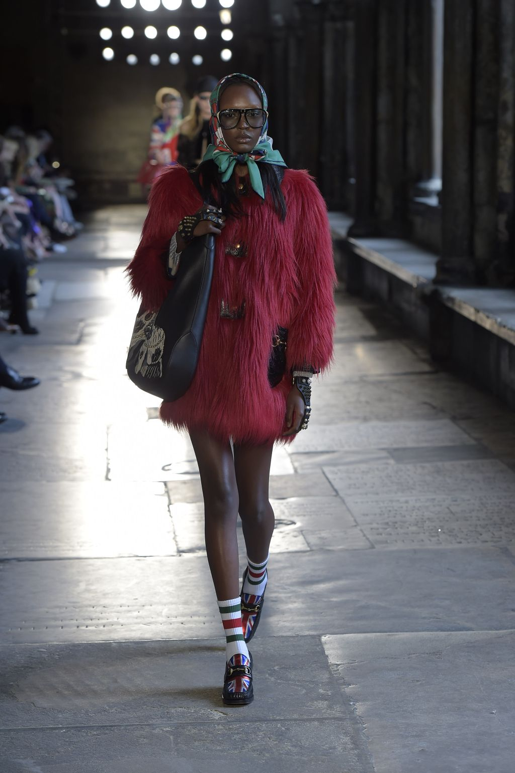 Gucci Resort 2017 The Show in London's Westminster Abbey