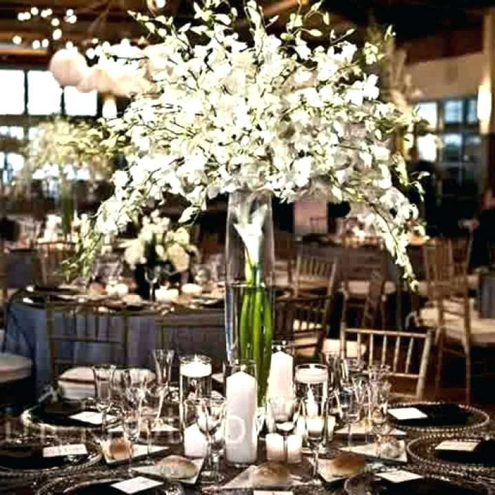 Tall Candle Centerpieces Weddings Manzanita Wedding