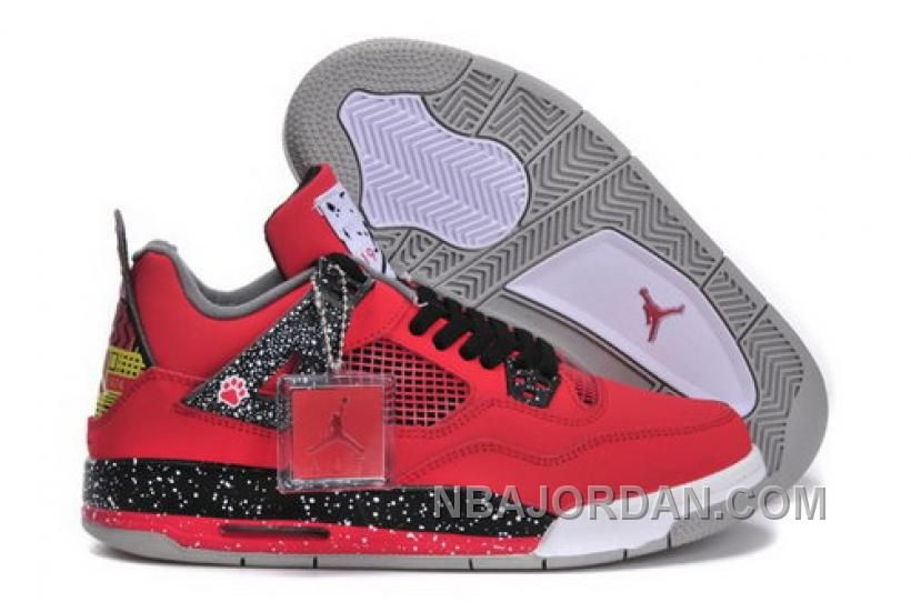 Low Price Nike Air Jordan 4 Iv Retro Womens Shoes New Online Red ... 402f00008f