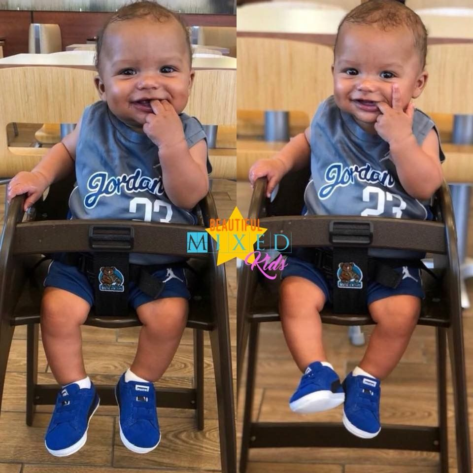 Alondre - 7 Months • African American & Caucasian 💛   Twin ...