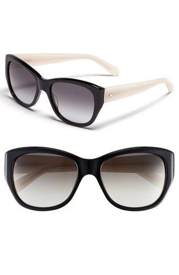 4dd5a3697a1 kate spade new york  kia  54mm cat eye sunglasses available at  Nordstrom